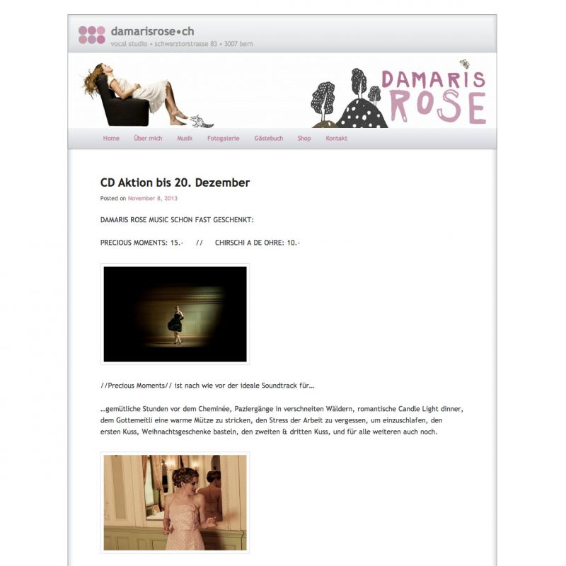 Damaris Rose - www.damarisrose.ch