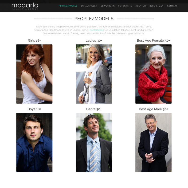 Modarta Talent Agency - www.modarta.ch